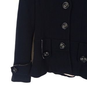Forever 21 Jackets & Coats - Forever 21 Navy Coat Big Buttons Size Small